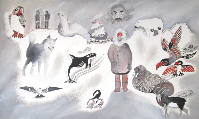 Jan FitzGerald, Inuit Dreams II